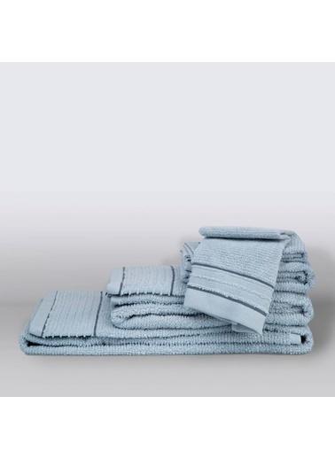 İrya Roya Pamuk Havlu 90X150 Mavi